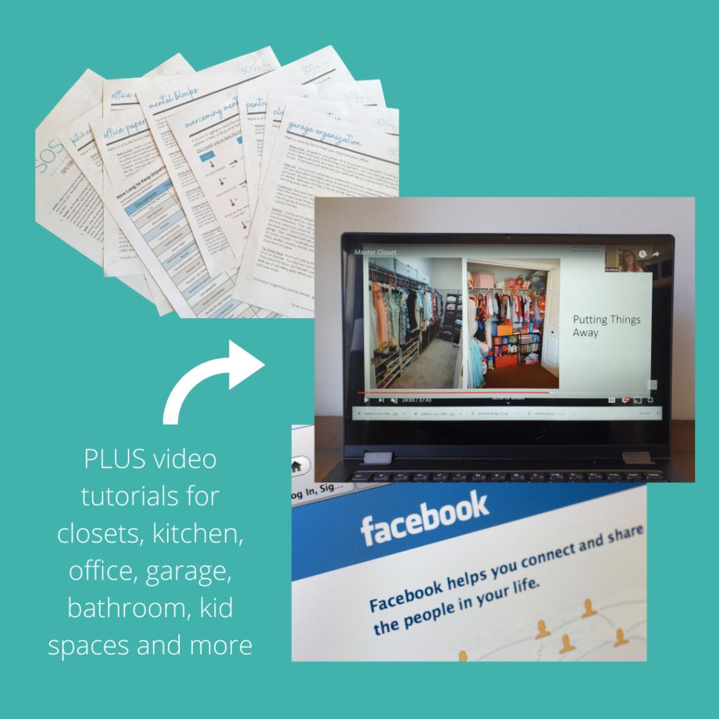 professional organizer video instruction