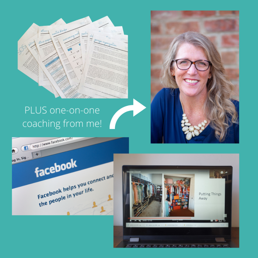 professional organizer video and coaching