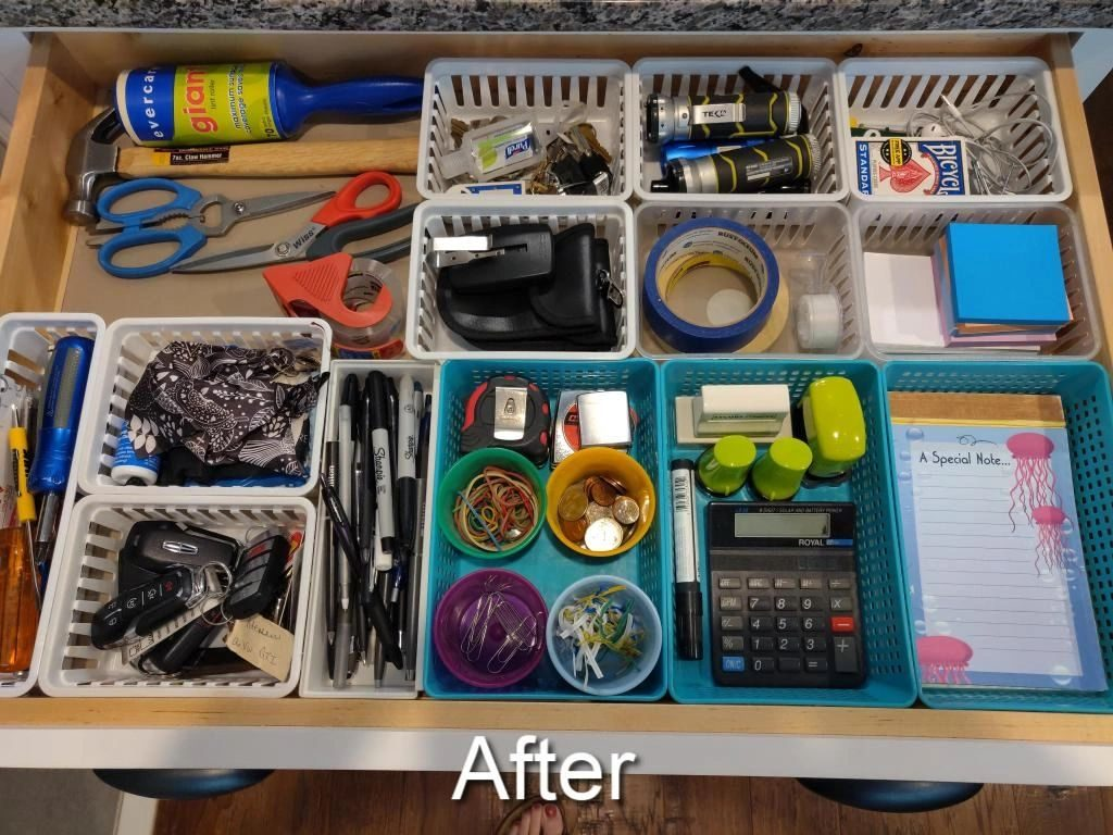 junk drawer turned functional drawer