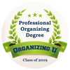 professional organizing degree